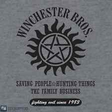 SUPERNATURAL Sam Dean Winchester Brothers Hunters Limited Ed. Mens T-Shirt M-2XL
