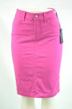 NYDJ Not Your Daughter's Jeans Women's Fuchsia Emma Stretch Twill Skirts