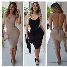 Sexy Women Bandage Bodycon Dress Evening Cocktail Party Night Club Wear Dress