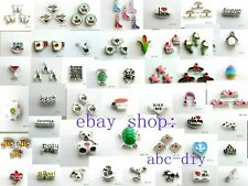 10pcs mixed Floating Charms living locket charm for floating memory locket #10