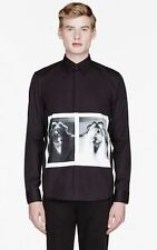 Brand new Givenchy Black X Ray Print Shirt For Men 100% authentic yeezy fashion