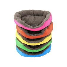 5 Colors Soft Pet Dog Puppy Cat Cozy Warm Nest Bed House with Plush Mat Pad AP