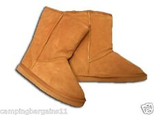 New SHORT UGG BOOTS GENUINE AUSTRALIAN SHEEPSKIN Size 6-10 Brown women men