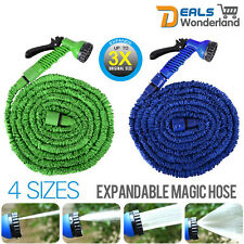 Expandable Flexible 25/50/75/100FT Magic Water Hose Pipe Garden Free Spray