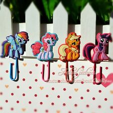 4pcs Little Horse Bookmark Book Page Holder Cartoon Paper Clips Office Supplies