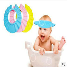 Lovely Baby Kids Shampoo Bath Bathing Shower Cap Hat Wash Hair Shield