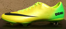 Mens Nike Mercurial Vapor IX Soccer Cleats ACC Size 12 Yellow/Lime/Black