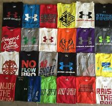 Men's Under Armour T-Shirts Heat Gear Loose Fit