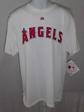 Los Angeles Angels Adult Angels T-Shirt Short Sleeve White