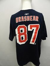 Reebok NHL Hockey New York Rangers Donald Brashear # 87 Men's T-Shirt Shirt