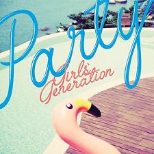 SNSD Girls' Generation Single Album - Party CD+Photobook+poster Factory Sealed
