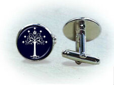 Lord of the Rings (LOTR) Tree of Gondor Cufflinks