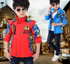 Children's jackets 2015 Kids Boys Korean boy spring outdoor leisure jacket coat
