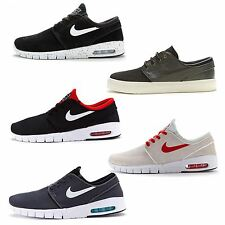 Mens Nike Zoom SB Stefan Janoski Lunar Max Suede & Fabric Trainers All Sizes