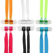 3.5mm Shoelace Stereo Headphones Earphones Gift for iPhone Samsung MIUI HTC