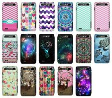 For Motorola Droid 4 XT894 New Design Snap On Protector Hard Cover Phone Case