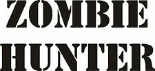 Zombie Hunter Decal Sticker Call Of Duty Black Ops 2 Nazi Zombies Gun lock Case