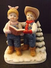 "HOMCO DENIM DAYS ""LET'S GO CAROLING"" - #15341-98 - USED WITH TAG"