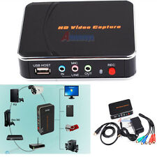 1080P HD PVR Game Video Capture HDMI/YPBPR Recorder Fr Xbox 360 One Live PS3 PS4