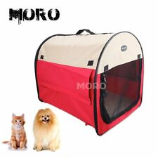 M-XL Portable Soft Pet Cat Dog Carrier Puppy House Kennel Tent w/Handle Large OZ
