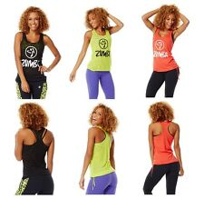 Authentic New Zumba Don't Burst My Bubble Tank (Burnout)  NWT