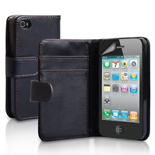 Leather Wallet Case for iPhone 4/4S