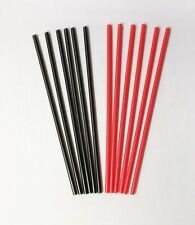 "500 Count Cocktail/Coffee Stirrers - 7.75"" Black or Red"