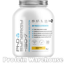 PhD Official Nutrition Synergy ISO7 2kg 2000g Genuine Sale Bargain Only £31.99