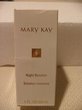 NEW! MARY KAY NIGHT SOLUTION w/ GOLD NUTRIBEADS #6577, Full Size 1 Oz., RETIRED