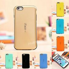 New Curve Design iFace Mall Shock-Absorbing Proof TPU Hard Case Cover For iPhone