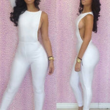 Sexy Women Overall Outfit Bodycon Jumpsuits Clubwear Bodysuit Bandage Romper