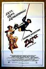 """Zorro is Hurt & Twin Brother Ramon takes his place """"ZORRO, THE GAY BLADE"""" poster"""