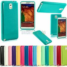 NEW Flexible TPU Jelly Gel Soft Skin Case Cover For Samsung Galaxy Note 3 N9000