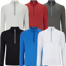 Callaway 2016 Opti-Series 1/4 Zip Waffle Fleece Mens Sweater Golf Pullover