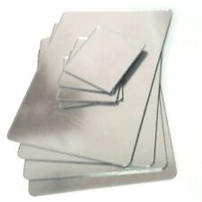 Mirror Acrylic Rectangle Shaped Placemats & Coasters Set