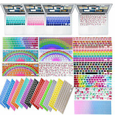 """Flexible Silicon Decal Keyboard Cover Skin for Macbook Air Pro 11"""" 12"""" 13"""" 15"""""""