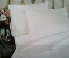 NEW SFERRA ANTONIA 300 TC EGYPTIAN COTTON SATEEN SHEET SET KING CAL KING WHITE