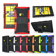 Hybrid Protect Stand Impact Hard Armor Case Cover For All Nokia Lumia Phone