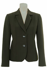 Busy Olive Green Ladies Suit Jacket