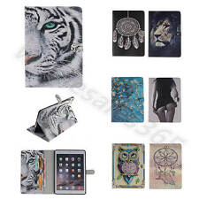 For iPad Samsung Tablets Fantasy Dream Synthetic PU Leather Card Flip Case Cover