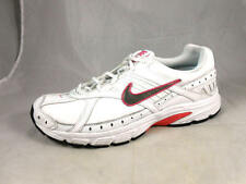 Excellent Used NIKE Xccelerate Leather Pink Trim Running Shoes Women's 11 1/2