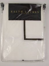 RALPH LAUREN HOME - MADISON CHOCOLATE PILLOW CASE 100% COTTON 400TC 50% OFF RRP