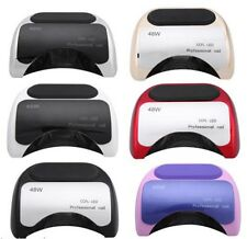 48W Powerful Led Nail Lamp for Gel Nail Polish Cure Very Fast Pro Nail Dryer
