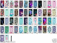 For Kyocera Hydro Wave C6740 Air C6745 TPU Silicone Rubber Cover Phone Case +PEN