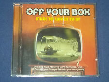 Off Your Box: Music To Watch TV By - CD compilation of music from TV ads
