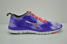 Womens Nike Free 5.0 TR Fit Wash Running Shoes Size 9.5 Purple White 653988 500