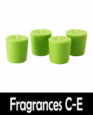 Scented Soy Wax Candle (Scents F-O) 100% Soy Wax - 18hr Burn Time - Votive