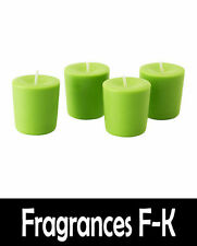 Scented Soy Wax Candle (Scents P-Z) 100% Soy Wax - 18hr Burn Time - Votive