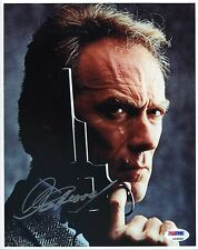CLINT EASTWOOD SIGNED 8X10 PHOTO. AUTHENTICATED PSA/DNA:#L33025