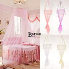 Round Lace Curtain Dome Princess Bed Canopy Netting Mosquito Net 4 Color BT6U